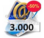 3000 Envíos de Email con DATUMSENDER
