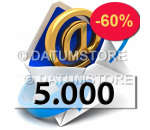5000 Email Shipments With DATUMSENDER