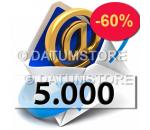 5000 Envíos de Email con DATUMSENDER