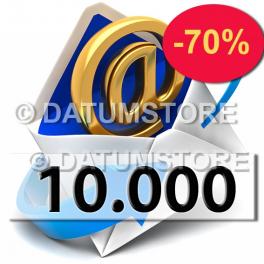 10.000 Envíos de Email con DATUMSENDER
