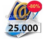 25000 Envíos de Email con DATUMSENDER