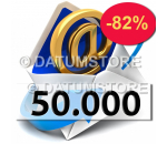 50000 Email Shipments With DATUMSENDER