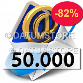 50.000 Envíos de Email con DATUMSENDER
