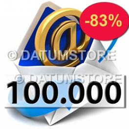 100.000 Envíos de Email con DATUMSENDER