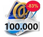100000 Envíos de Email con DATUMSENDER