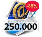 250000 Envíos de Email con DATUMSENDER